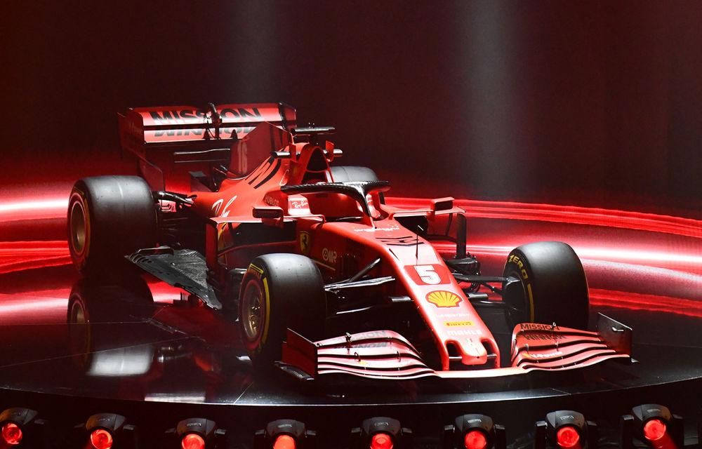 """Ferrari a prezentat noul monopost de Formula 1 pentru sezonul 2020: """"Vettel rămâne prima opțiune pentru 2021, Hamilton nu este o prioritate"""" - Poza 1"""