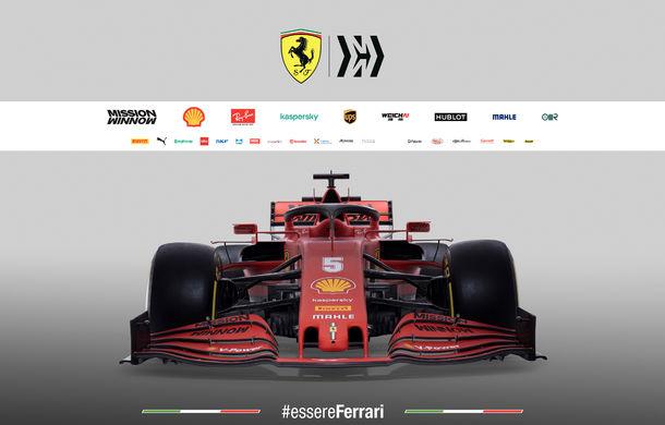 """Ferrari a prezentat noul monopost de Formula 1 pentru sezonul 2020: """"Vettel rămâne prima opțiune pentru 2021, Hamilton nu este o prioritate"""" - Poza 6"""