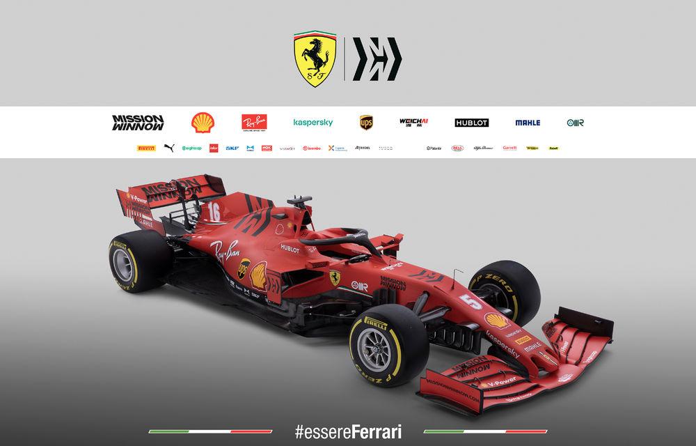 """Ferrari a prezentat noul monopost de Formula 1 pentru sezonul 2020: """"Vettel rămâne prima opțiune pentru 2021, Hamilton nu este o prioritate"""" - Poza 9"""
