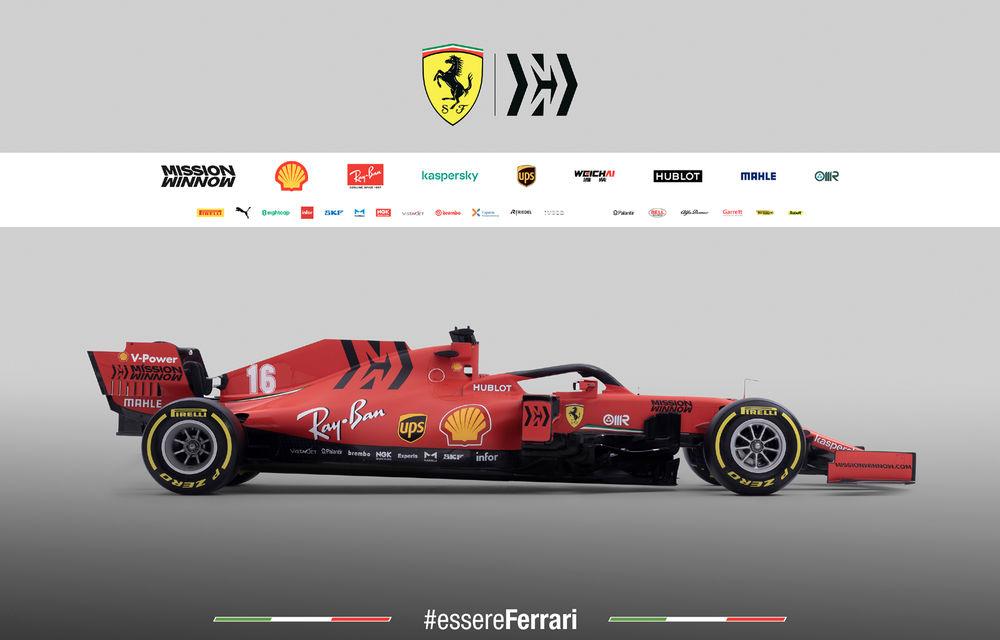 """Ferrari a prezentat noul monopost de Formula 1 pentru sezonul 2020: """"Vettel rămâne prima opțiune pentru 2021, Hamilton nu este o prioritate"""" - Poza 5"""