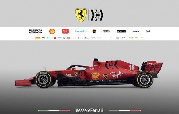 """Ferrari a prezentat noul monopost de Formula 1 pentru sezonul 2020: """"Vettel rămâne prima opțiune pentru 2021, Hamilton nu este o prioritate"""" - Poza 8"""