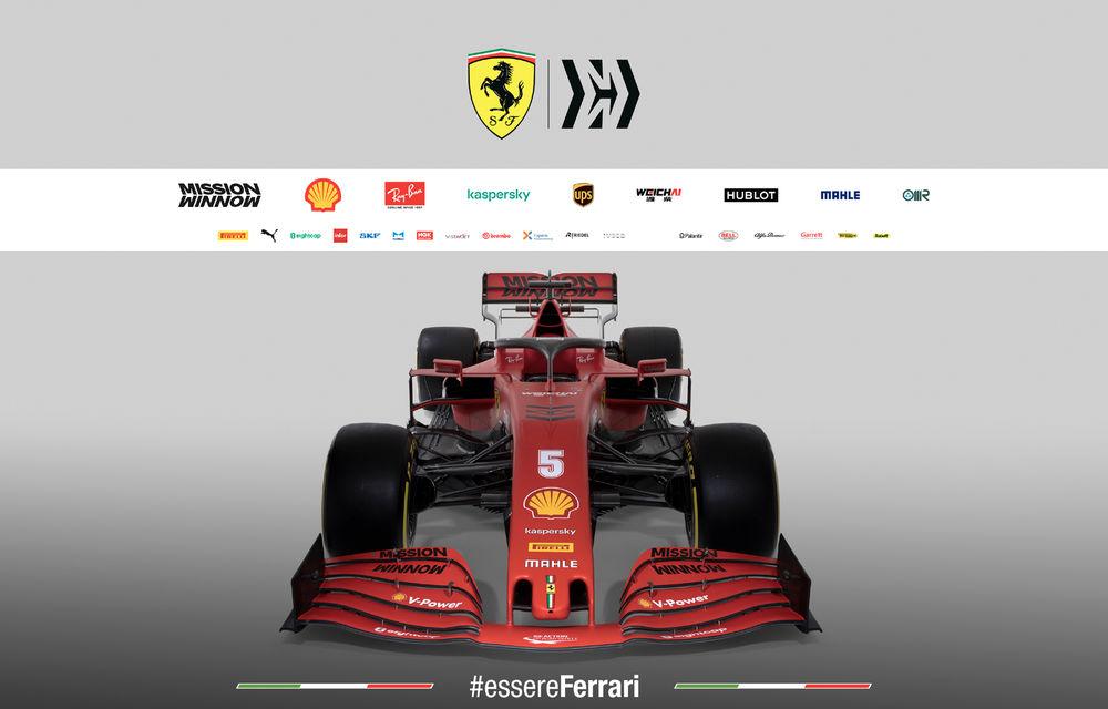"""Ferrari a prezentat noul monopost de Formula 1 pentru sezonul 2020: """"Vettel rămâne prima opțiune pentru 2021, Hamilton nu este o prioritate"""" - Poza 7"""