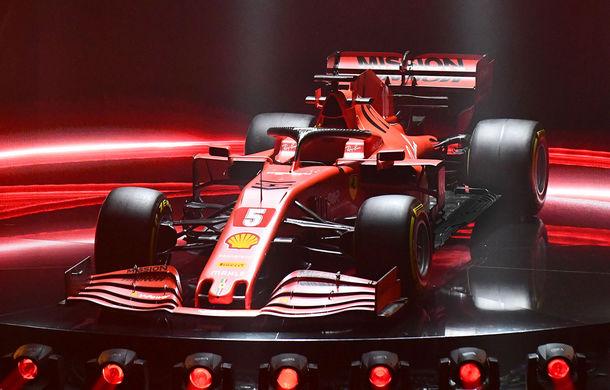 """Ferrari a prezentat noul monopost de Formula 1 pentru sezonul 2020: """"Vettel rămâne prima opțiune pentru 2021, Hamilton nu este o prioritate"""" - Poza 3"""