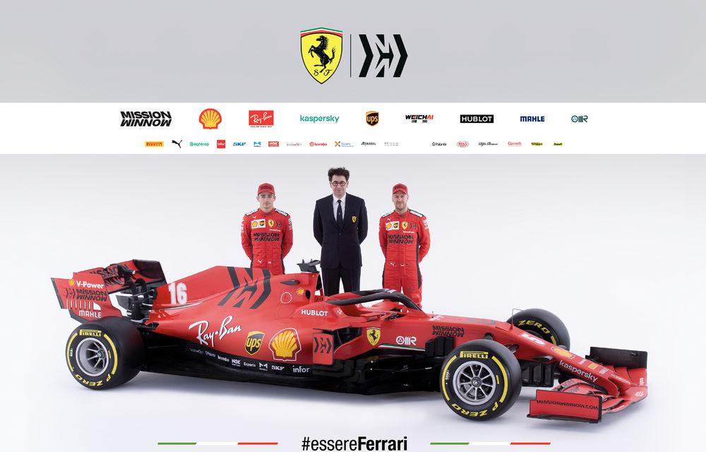 """Ferrari a prezentat noul monopost de Formula 1 pentru sezonul 2020: """"Vettel rămâne prima opțiune pentru 2021, Hamilton nu este o prioritate"""" - Poza 11"""