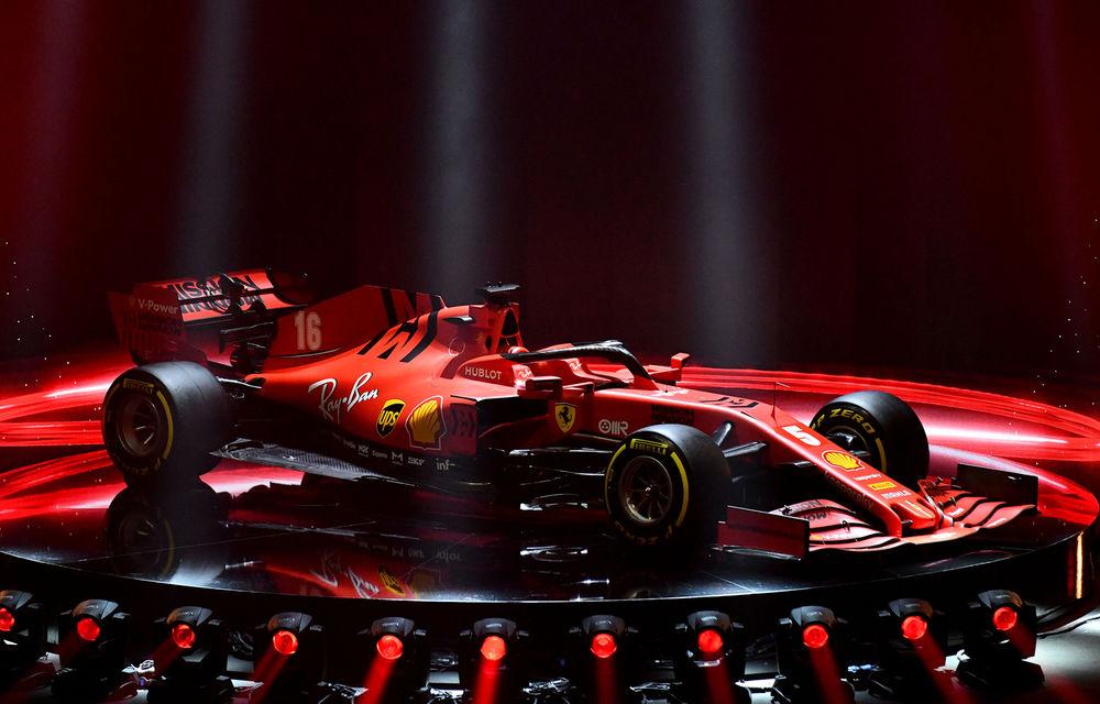 """Ferrari a prezentat noul monopost de Formula 1 pentru sezonul 2020: """"Vettel rămâne prima opțiune pentru 2021, Hamilton nu este o prioritate"""" - Poza 2"""