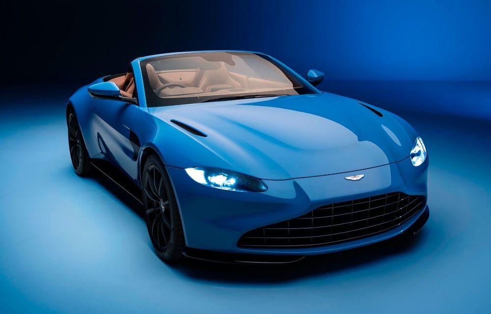Aston Martin a lansat noul Vantage Roadster: V8 de 510 cai putere, cuplu de 685 Nm și viteză maximă de 306 km/h - Poza 1