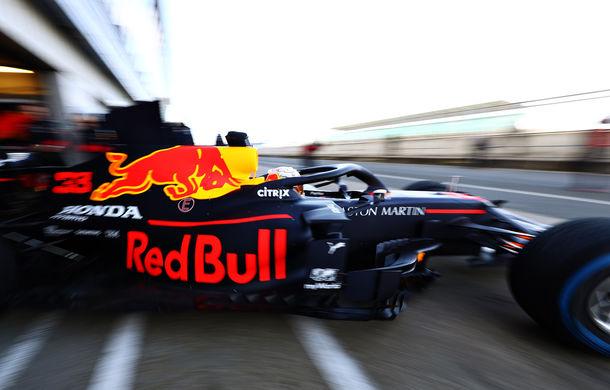 Red Bull a prezentat monopostul pentru sezonul 2020 al Formulei 1: Verstappen a parcurs primele tururi pe circuitul de la Silverstone - Poza 5