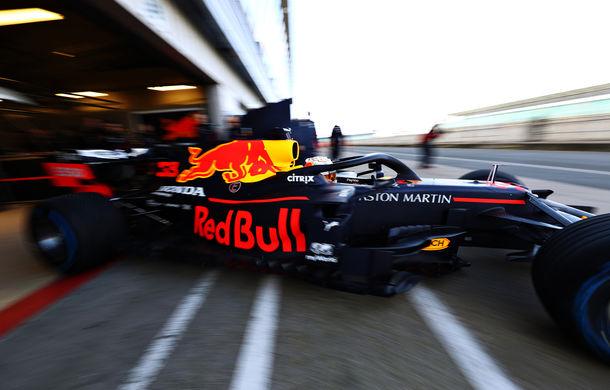 Red Bull a prezentat monopostul pentru sezonul 2020 al Formulei 1: Verstappen a parcurs primele tururi pe circuitul de la Silverstone - Poza 7