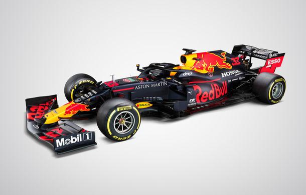 Red Bull a prezentat monopostul pentru sezonul 2020 al Formulei 1: Verstappen a parcurs primele tururi pe circuitul de la Silverstone - Poza 8