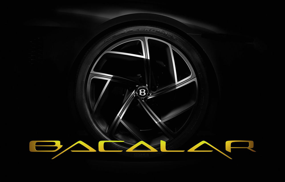 Primele teasere cu viitorul Bentley Mulliner Bacalar: modelul va fi produs într-un număr limitat de exemplare și va fi prezentat la Geneva - Poza 1
