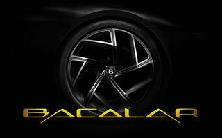 Primele teasere cu viitorul Bentley Mulliner Bacalar: modelul va fi produs într-un număr limitat de exemplare și va fi prezentat la Geneva