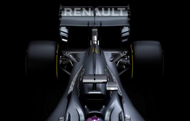 Renault amână prezentarea noului monopost de Formula 1: francezii au publicat doar câteva teasere, întrucât monopostul nu este finalizat - Poza 3