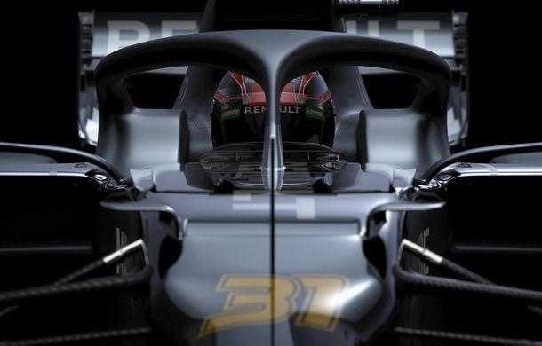 Renault amână prezentarea noului monopost de Formula 1: francezii au publicat doar câteva teasere, întrucât monopostul nu este finalizat - Poza 2