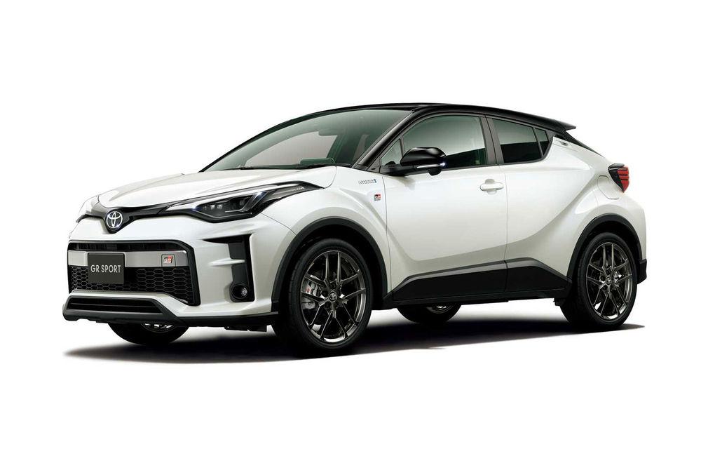 Toyota ar putea lansa o versiune de performanță pentru C-HR: SUV-ul va miza pe motorul cu trei cilindri de 1.6 litri - Poza 1