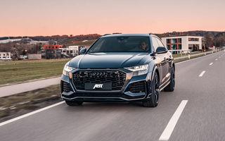 Îmbunătățiri pentru Audi RS Q8 din partea ABT: 700 de cai putere pentru cel mai rapid SUV de serie de la Nurburgring