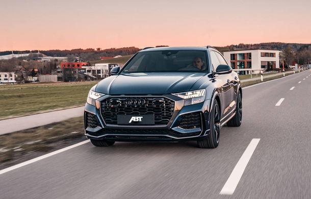 Îmbunătățiri pentru Audi RS Q8 din partea ABT: 700 de cai putere pentru cel mai rapid SUV de serie de la Nurburgring - Poza 1