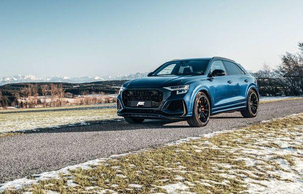 Îmbunătățiri pentru Audi RS Q8 din partea ABT: 700 de cai putere pentru cel mai rapid SUV de serie de la Nurburgring - Poza 2