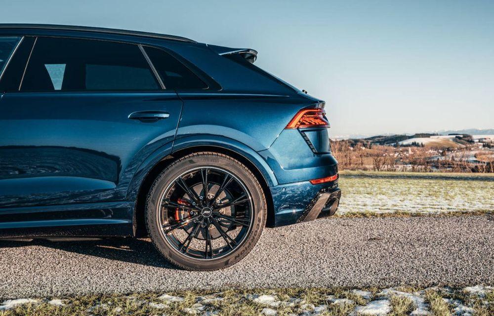 Îmbunătățiri pentru Audi RS Q8 din partea ABT: 700 de cai putere pentru cel mai rapid SUV de serie de la Nurburgring - Poza 6