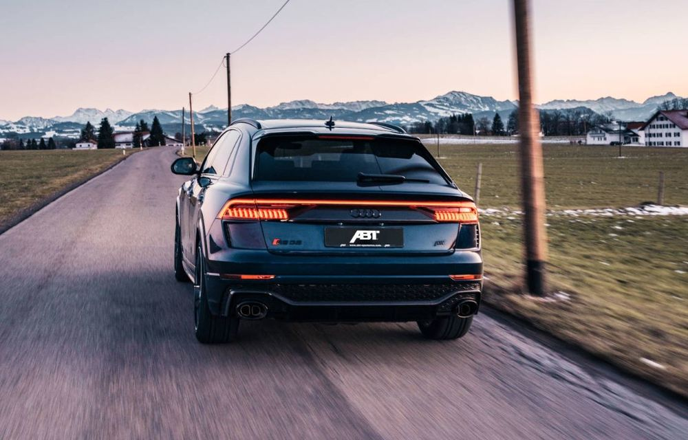 Îmbunătățiri pentru Audi RS Q8 din partea ABT: 700 de cai putere pentru cel mai rapid SUV de serie de la Nurburgring - Poza 5