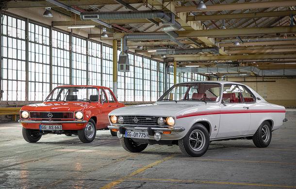 Dublă aniversare în familia Opel: Manta și Ascona împlinesc 50 de ani de la debut - Poza 1