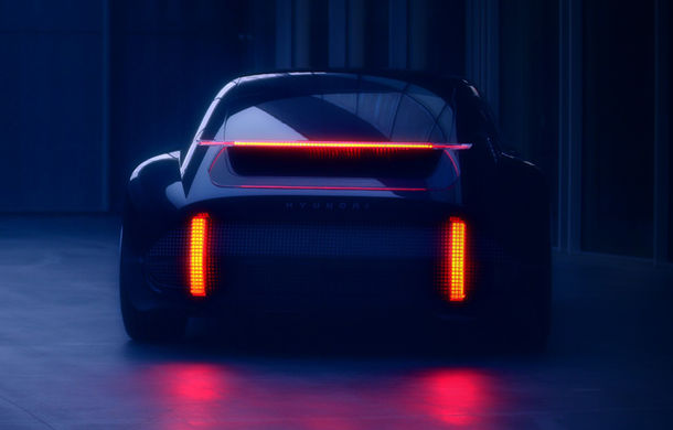 Primul teaser cu Hyundai Prophecy: conceptul electric va fi prezentat în 3 martie - Poza 1