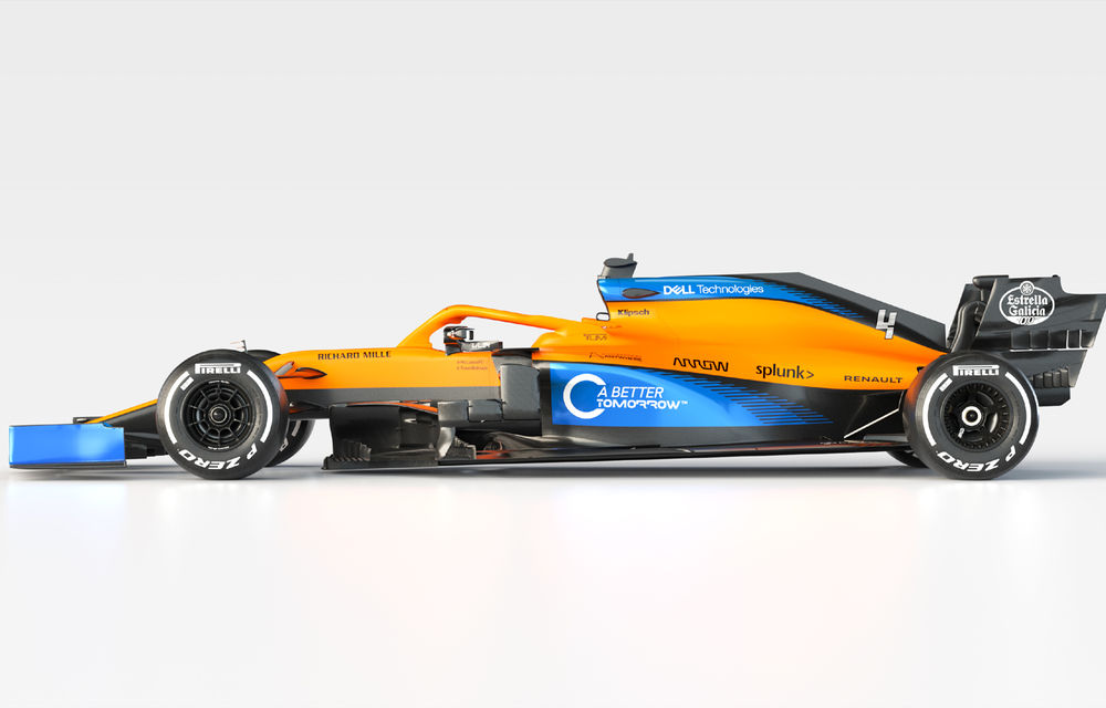 "McLaren a prezentat noul monopost de Formula 1 pentru 2020: ""Va fi un sezon dificil"" - Poza 2"