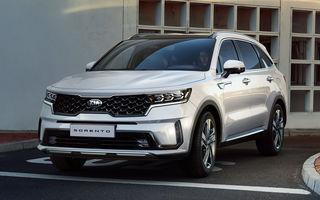 Primele imagini cu noua generație Kia Sorento: SUV-ul primește îmbunătățiri de design și versiune plug-in hybrid de 265 de cai putere