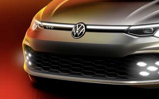Primul teaser pentru Volkswagen Golf GTD: germanii promit