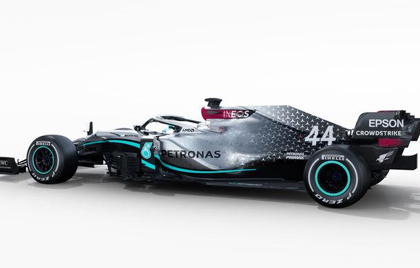 """Mercedes a prezentat noul monopost pentru sezonul 2020 al Formulei 1: """"Ne așteptăm să fie cel mai rapid monopost al nostru din istorie"""" - Poza 10"""