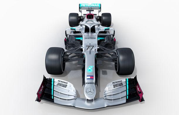 """Mercedes a prezentat noul monopost pentru sezonul 2020 al Formulei 1: """"Ne așteptăm să fie cel mai rapid monopost al nostru din istorie"""" - Poza 11"""
