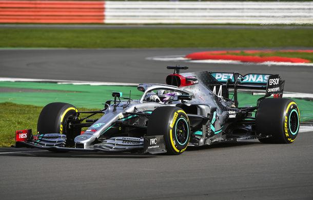 """Mercedes a prezentat noul monopost pentru sezonul 2020 al Formulei 1: """"Ne așteptăm să fie cel mai rapid monopost al nostru din istorie"""" - Poza 7"""
