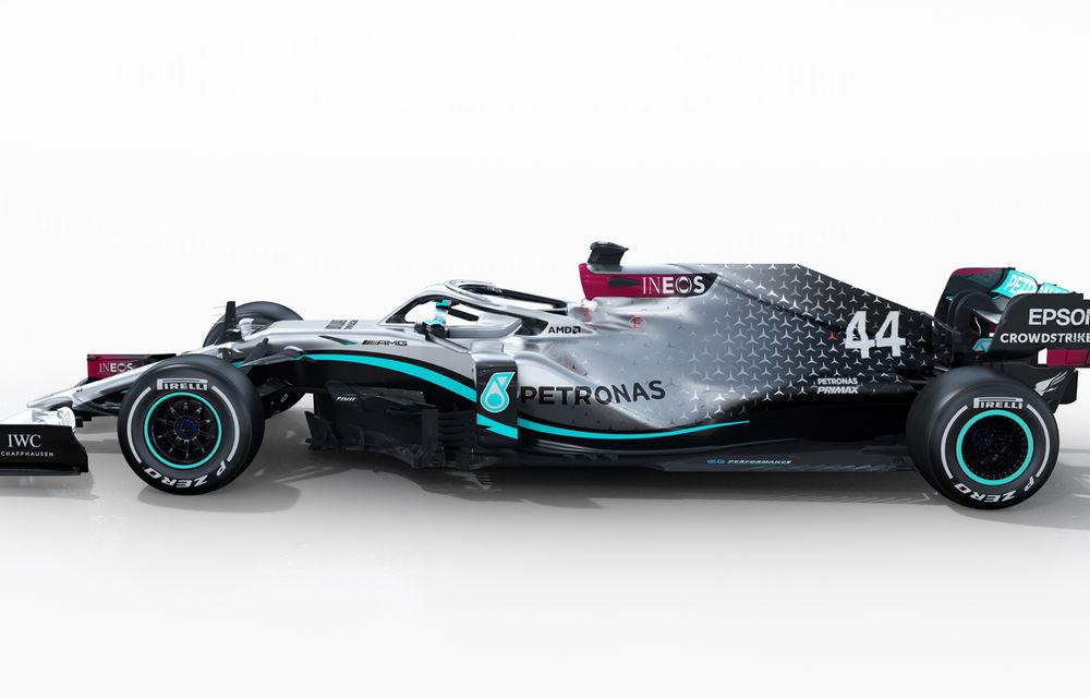 """Mercedes a prezentat noul monopost pentru sezonul 2020 al Formulei 1: """"Ne așteptăm să fie cel mai rapid monopost al nostru din istorie"""" - Poza 9"""