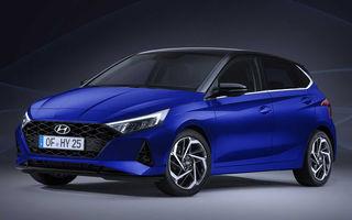 """Primele imagini cu noua generație Hyundai i20 au """"scăpat"""" pe internet: subcompacta va primi noutăți importante de design"""