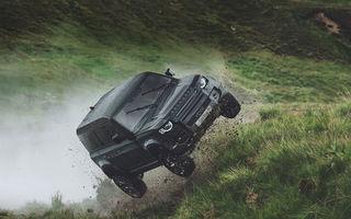 Video. Câteva dintre cascadoriile noului Land Rover Defender pregătite pentru pelicula James Bond: No time to die