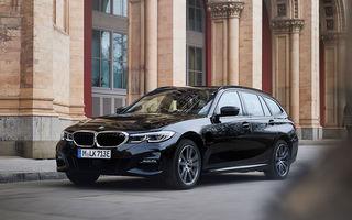 BMW lansează o versiune plug-in hybrid pentru Seria 3 Touring: putere totală de până la 292 de cai și autonomie electrică de 65 de kilometri