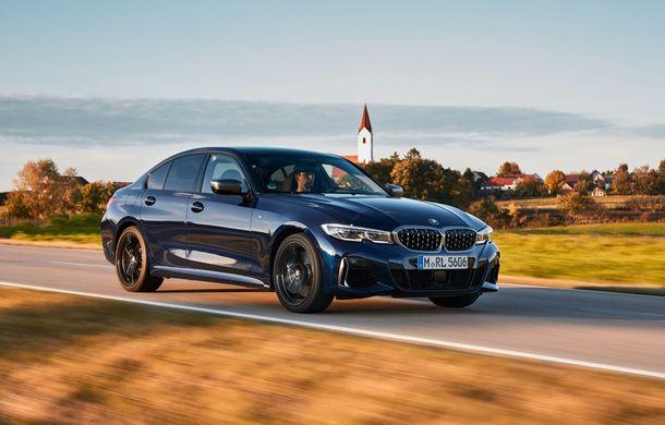 Noutăți în gama BMW Seria 3: nemții introduc versiuni diesel cu 340 cai putere și sistem mild-hybrid la 48V - Poza 5