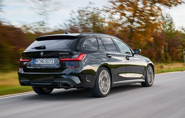 Noutăți în gama BMW Seria 3: nemții introduc versiuni diesel cu 340 cai putere și sistem mild-hybrid la 48V - Poza 12