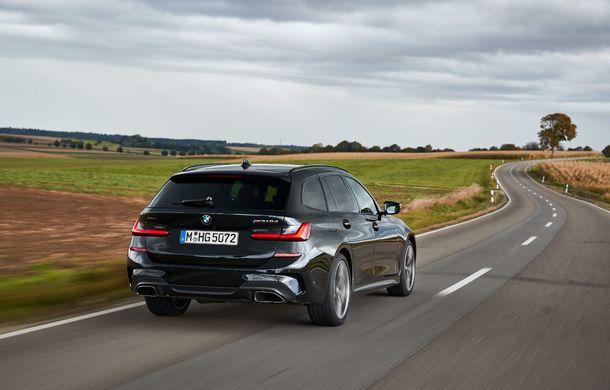 Noutăți în gama BMW Seria 3: nemții introduc versiuni diesel cu 340 cai putere și sistem mild-hybrid la 48V - Poza 10