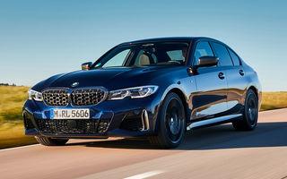 Noutăți în gama BMW Seria 3: nemții introduc versiuni diesel cu 340 cai putere și sistem mild-hybrid la 48V