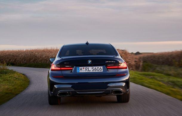 Noutăți în gama BMW Seria 3: nemții introduc versiuni diesel cu 340 cai putere și sistem mild-hybrid la 48V - Poza 4