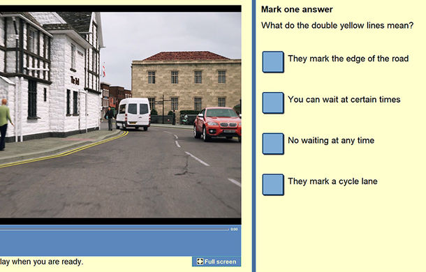 Schimbări la testele teoretice pentru obținerea permisului auto în Marea Britanie: scenariile scrise, înlocuite cu clipuri video - Poza 2