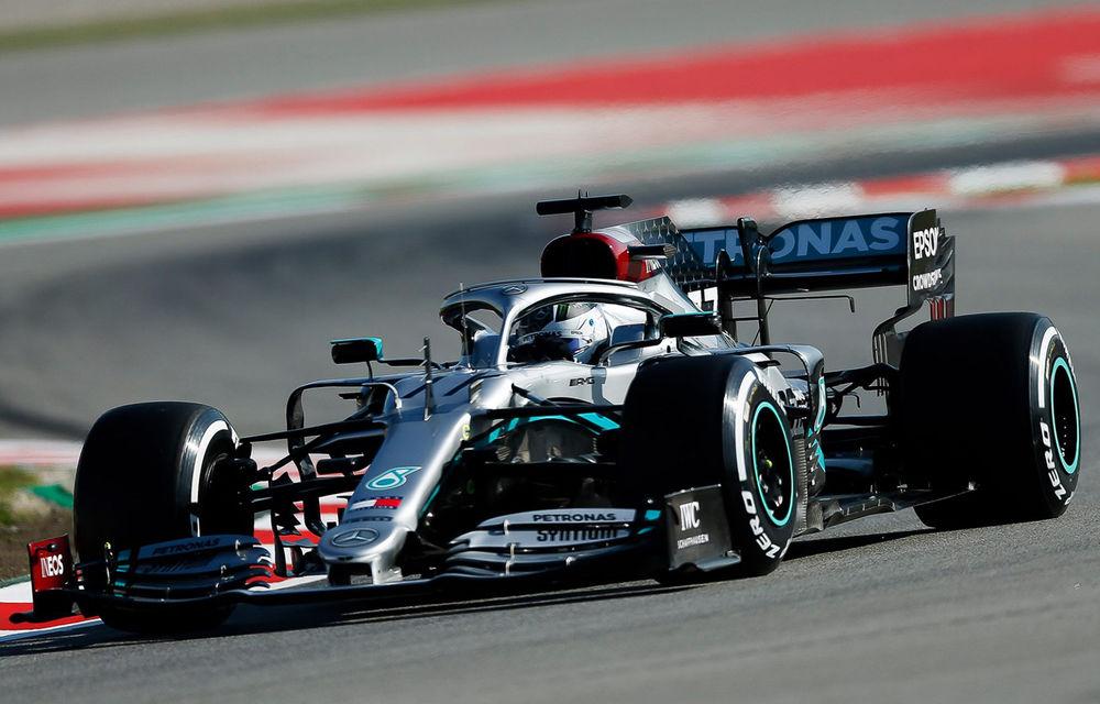 Au început testele pentru noul sezon de Formula 1: Bottas, cel mai bun timp pentru Mercedes. Vettel a absentat din motive medicale - Poza 1