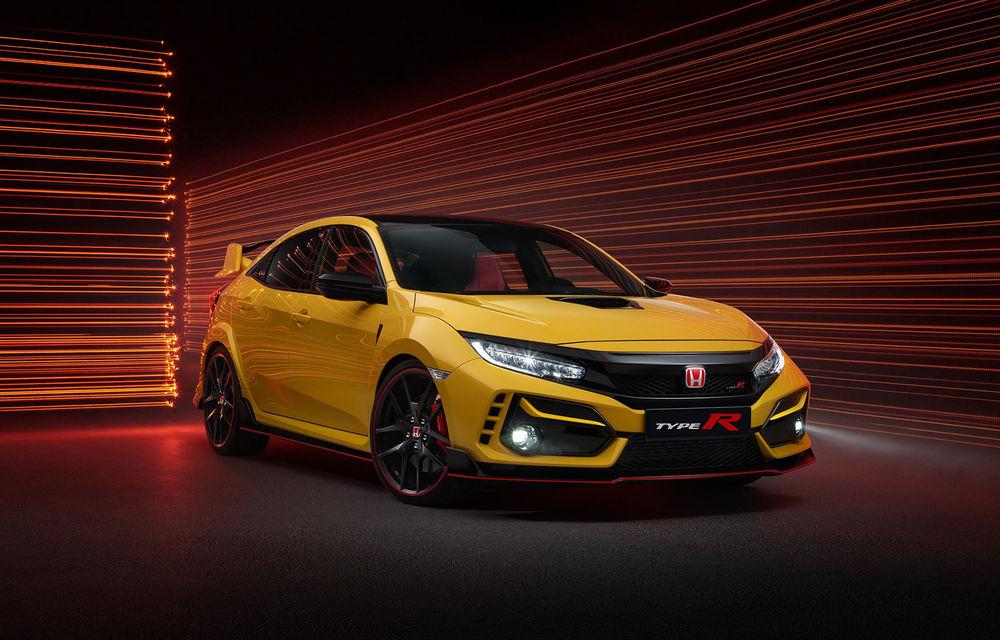 Honda Civic Type R Limited Edition și Sport Line: versiuni noi pentru Hot Hatch-ul nipon cu 320 de cai putere - Poza 1