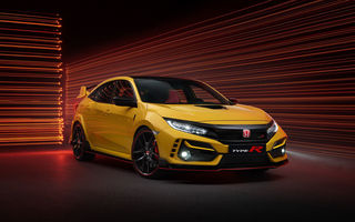 Honda Civic Type R Limited Edition și Sport Line: versiuni noi pentru Hot Hatch-ul nipon cu 320 de cai putere