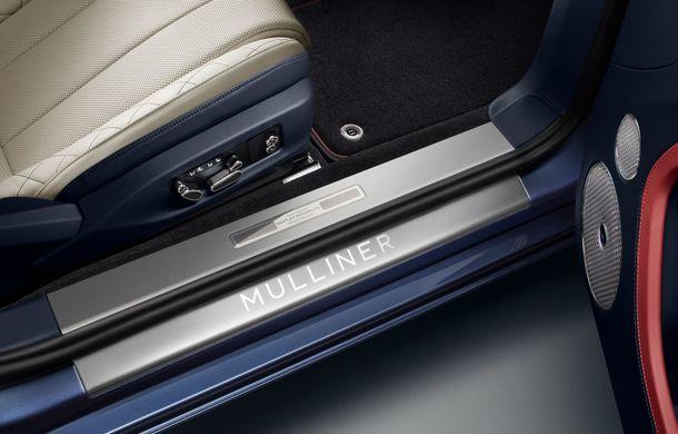 Bentley prezintă ediția specială Continental GT Mulliner Cabrio: 400.000 de cusături și un interior lucrat manual - Poza 9