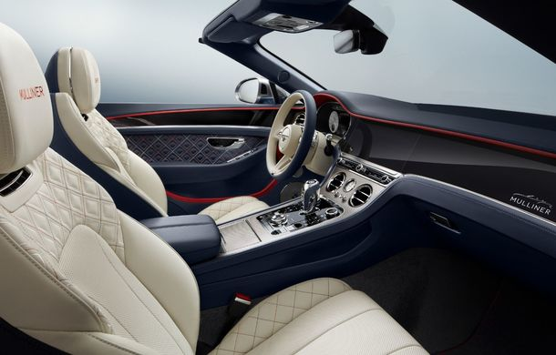 Bentley prezintă ediția specială Continental GT Mulliner Cabrio: 400.000 de cusături și un interior lucrat manual - Poza 6