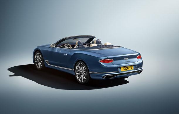 Bentley prezintă ediția specială Continental GT Mulliner Cabrio: 400.000 de cusături și un interior lucrat manual - Poza 2