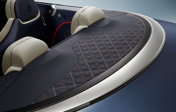 Bentley prezintă ediția specială Continental GT Mulliner Cabrio: 400.000 de cusături și un interior lucrat manual - Poza 5