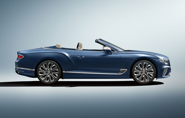 Bentley prezintă ediția specială Continental GT Mulliner Cabrio: 400.000 de cusături și un interior lucrat manual - Poza 3