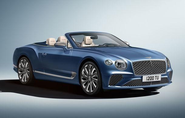 Bentley prezintă ediția specială Continental GT Mulliner Cabrio: 400.000 de cusături și un interior lucrat manual - Poza 1